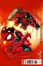 Spider-man Deadpool #1 Hastings Exclusive McGuiness Variant