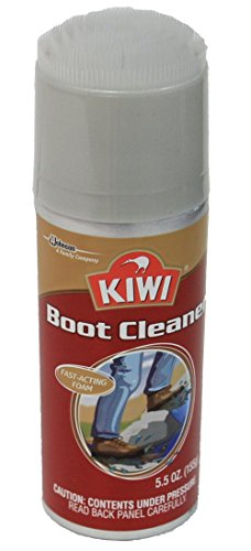 Kiwi Boot Cleaner Removes Dirt and Stains Safe for All Materials and Colors 5.5 Oz.
