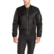 Alpha Industries Men's MA-1 Slim Fit Bomber Flight Jacket