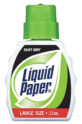 Liquid Paper Bond White -- Case of 16 by  (Image #1)
