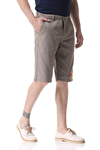 Shorts Da Uomo Marrone Pantaloncini 25 Chino Pau1hami1ton Ph wqagfAaC