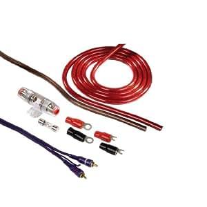 Hama AMP-Kit 16/2 - Juego de cables y conectores para amplificadores