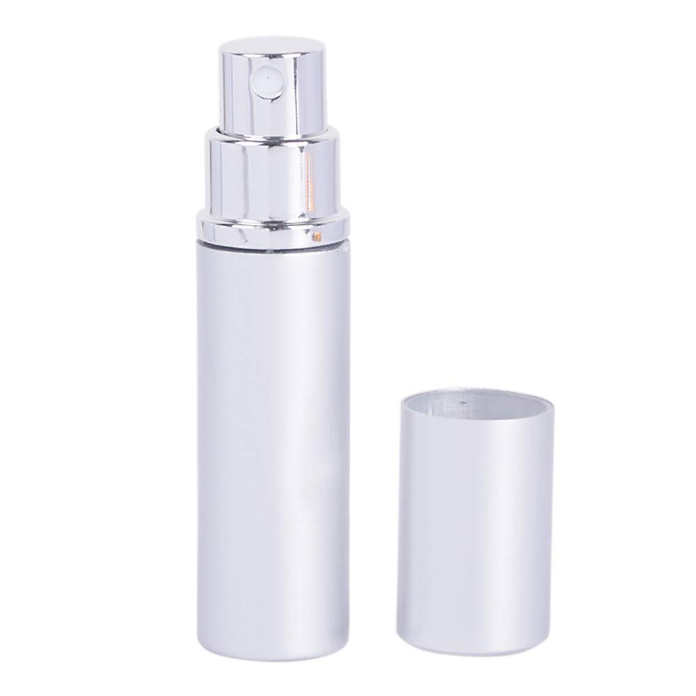 Hunputa Empty Acrylic Cosmetic Pump Bottle with Lid for Homemade Beauty Products, Lotion and Serum