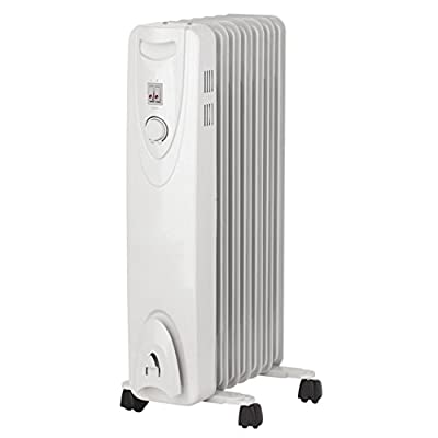 Portable Oil Filled Radiator Heater Home & Garden Improvement