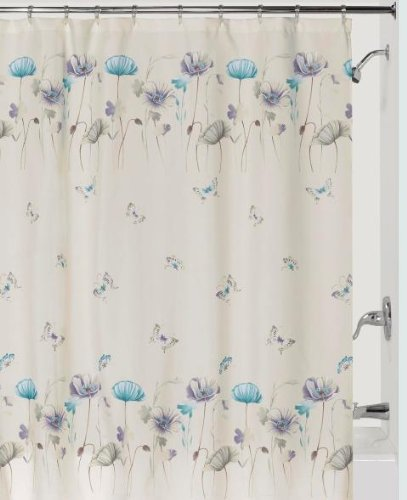 Creative Bath Products Inc. S1072LIL Garden Gate Shower Curtain, Purple from Creative Bath