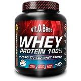 Vitobest Whey Protein 100%, Aroma de Chocolate - 907 gr