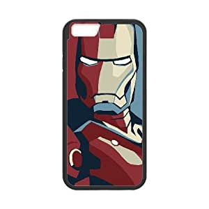 iPhone 6 4.7 Inch Phone Case Black Iron Man Poster PT4E9OIZ Western Cell Phone Case