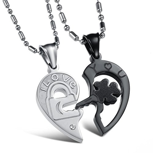 [Dixivi Jewelry a Pair Valentine Couple Engraved