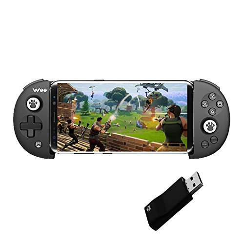 Bounabay Wireless Telescopic Bluetooth Controller Gamepad Android System,Black