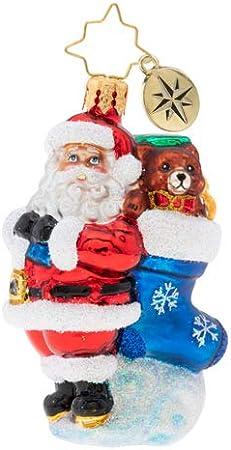 Multicolor Christopher Radko Just Horsing Around Gem Christmas Ornament