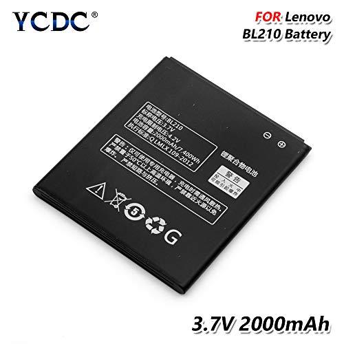YCDC BL210 Battery 3.7V 2000mAh for Lenovo A656 A766 A658T A828T S820E S650 S658T,BL210 BL 210 Battery 2000mAh for Lenovo S820 S820E A536 S650 A766 A750E A770E
