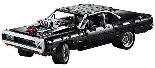 LEGO Technic Fast & Furious Dom's Dodge Charger 42111 Race Car Building Set (1,077 Pieces)