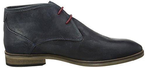 Joe Browns Herren Distressed Leather Boots Desert Blau (a-indigo)