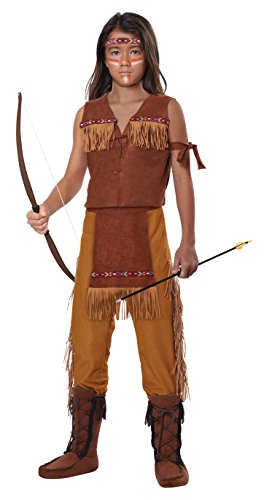 [California Costumes Classic Indian Boy Child Costume, Medium] (Cool Costumes For Boys)