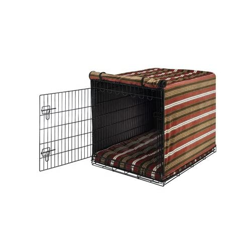 Image of Pet Supplies Bowsers Luxury Crate Cover, Medium, Cowboy