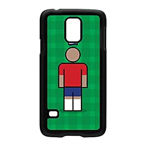 Costa Rica Black Hard Plastic Case for Samsung? Galaxy S5 by Blunt Football International + FREE Crystal Clear Screen Protector