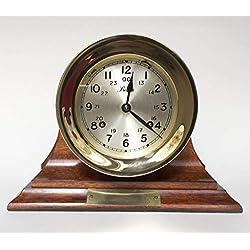 Boston Mantel Clock, 4.5 inch Shipstrike, Vintage