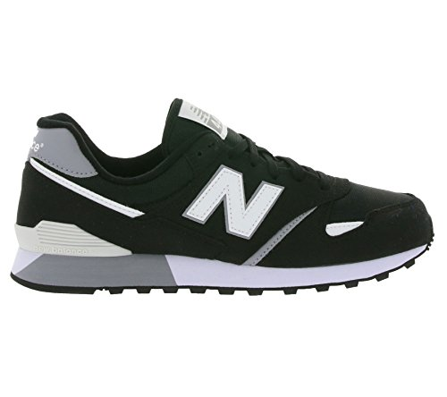 New Balance U446bw - Zapatillas de tela, sintético negro negro, color negro, talla 37 EU