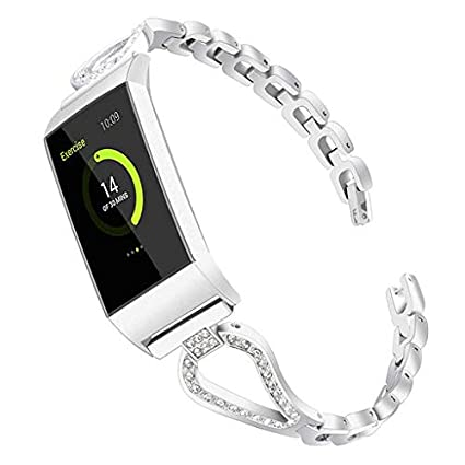 Amazon com: Lyperkin Compatible with Fitbit Charge 3 Bands, Fashion