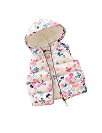zhbotaolang Sleeveless Vest Child Waistcoat Jacket Printing Coat Ultralight Clothing