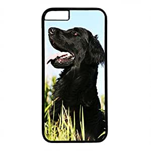 Unique Design Case for iphone 6,Fashion Black Plastic Case Back Cover for iPhone 6 with Black Dog