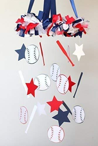 - Baseball Sports Nursery Ceiling Mobile