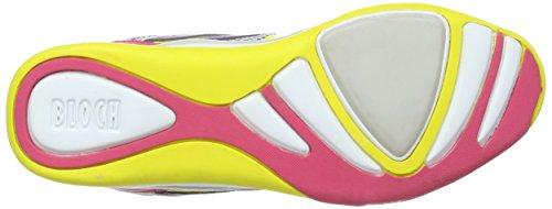 Bloch Lightning SO 924 - Zapatillas de deporte para mujer Amarillo - Citrus