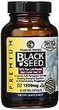 Amazing Herbs Premium Black Seed Oil 1250mg 60sfg (Pack of 3)