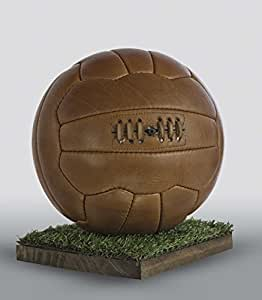 color marr/ón All Sport Vintage Bal/ón de f/útbol