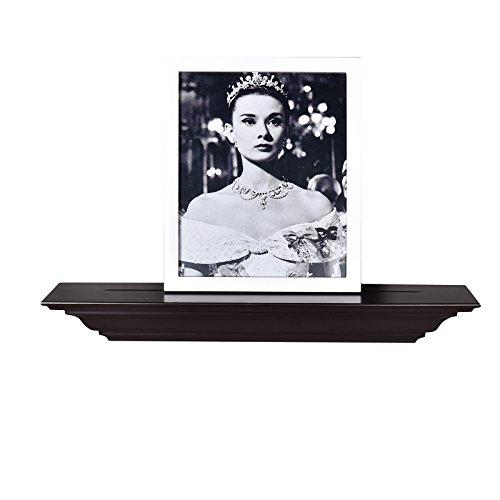 Molding Wall Shelf, 24-Inch, Espresso ()