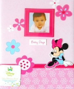 High Quality Disney Minnie Mouse Baby Days Baby Memory Book