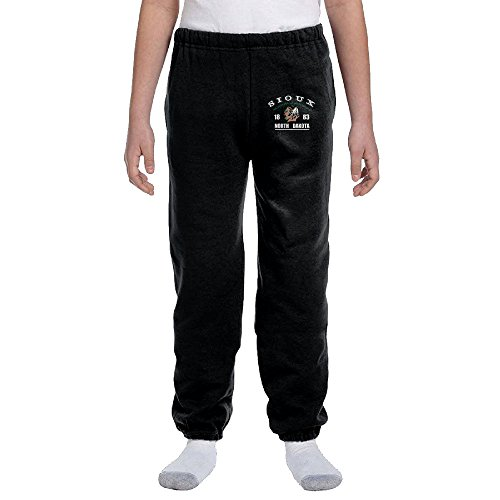Jackson University Of North Dakota-Fighting Sioux Youth Slim Fit Jogger Sweatpant Running Pant XL