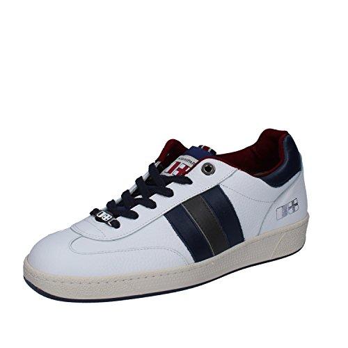 Bianco D'ACQUASPARTA Blu Uomo Sneaker Pelle qHx1BwHg