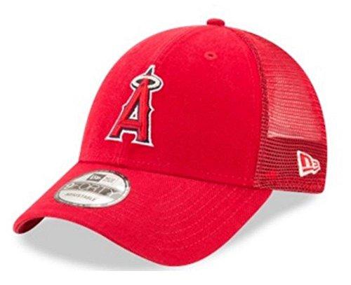 Era Mesh Hat - New Era MLB Anaheim Angels Baseball Hat Cap 940 Trucker Snapback 11591216