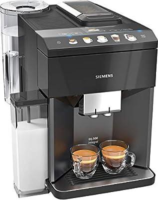 Siemens EQ.500 integral Independiente Máquina espresso Negro 1,7 L ...