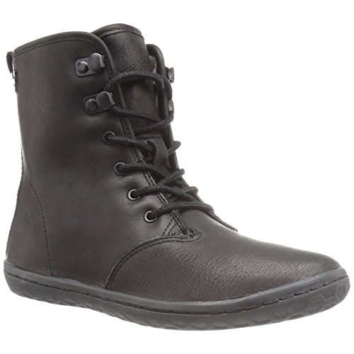 Vivobarefoot Women's Gobi HI Top Classic Lace up Winter Boot, Black 01, 37 D EU (7 US) by Vivobarefoot