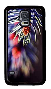 Samsung S5 cases most protective Flower Closeup 3 PC Black Custom Samsung Galaxy S5 Case Cover