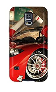 Awesome Defender Tpu Hard Case Cover For Galaxy S5- Vehicles Car