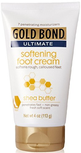 Gold Bond Ultimate Softening Foot Cream with Shea Butter, Leaves Rough, Dry, Calloused Feet, Heels, and Soles Feeling…