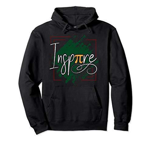 (Pi Day Hoodie Inspire Pi Math Teacher Kids Womens Distressed)
