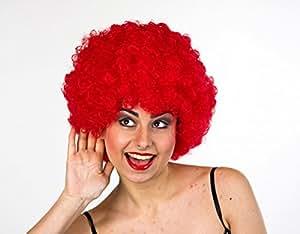 Peluca de pelo en una bolsa, Rojo