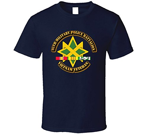 (XLARGE - 95th Military Police Battalion W Svc - Navy )