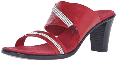 Sandalia Rojo Mujer Vestido Onex la Avery de axqzwX7R
