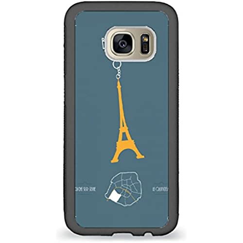 Custom Phone Cases Design for Samsung Galaxy S7 - Eiffel Tower Sign back phone cases Sales