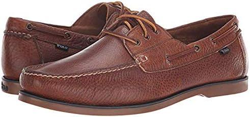 メンズスリッポン・ボートシューズ・靴 Bienne Tan Oiled Tumbled Leather 26cm M [並行輸入品]
