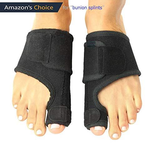 FanProd Bunion Corrector, Bunion Splint, Bunion relief, Orthopedic bunion corrector, Bunion correcetor big toe, Bunion brace for women, Toe brace,straightener, Toe corrector, Toe splint.