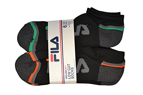Fila Athletic Shorts - FILA 6PK MENS ATHLETIC SOCKS