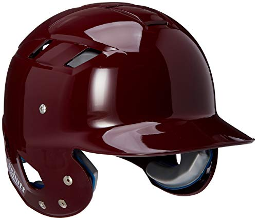 Schutt Sports AiR Maxx T Baseball Batter's Helmet, High Gloss Maroon, Medium ()