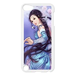 iPod Touch 5 Case White Anime Dreamy Fantasy Ancient Beauty Acyqp