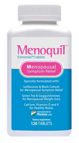 Menoquil - Menopausal Symptom Relief (120 tablets/bottle) (1)